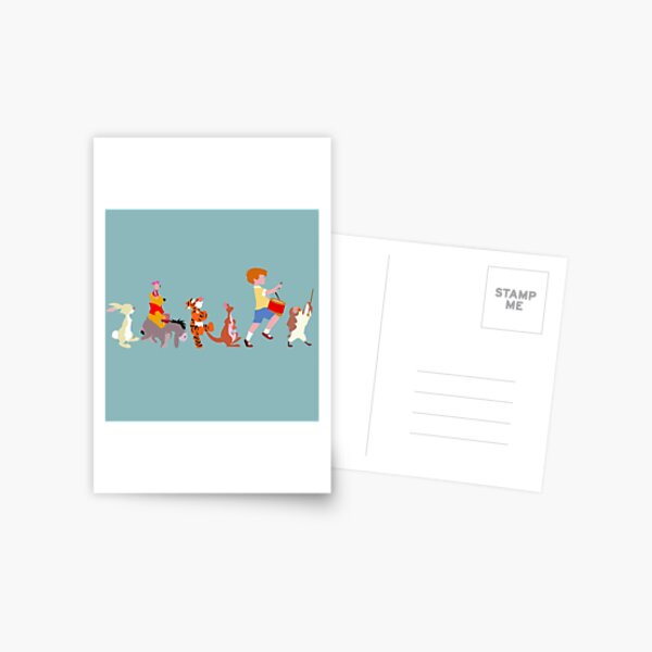 Le gang HAW Carte postale