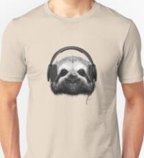 Sloth DJ Unisex T-Shirt