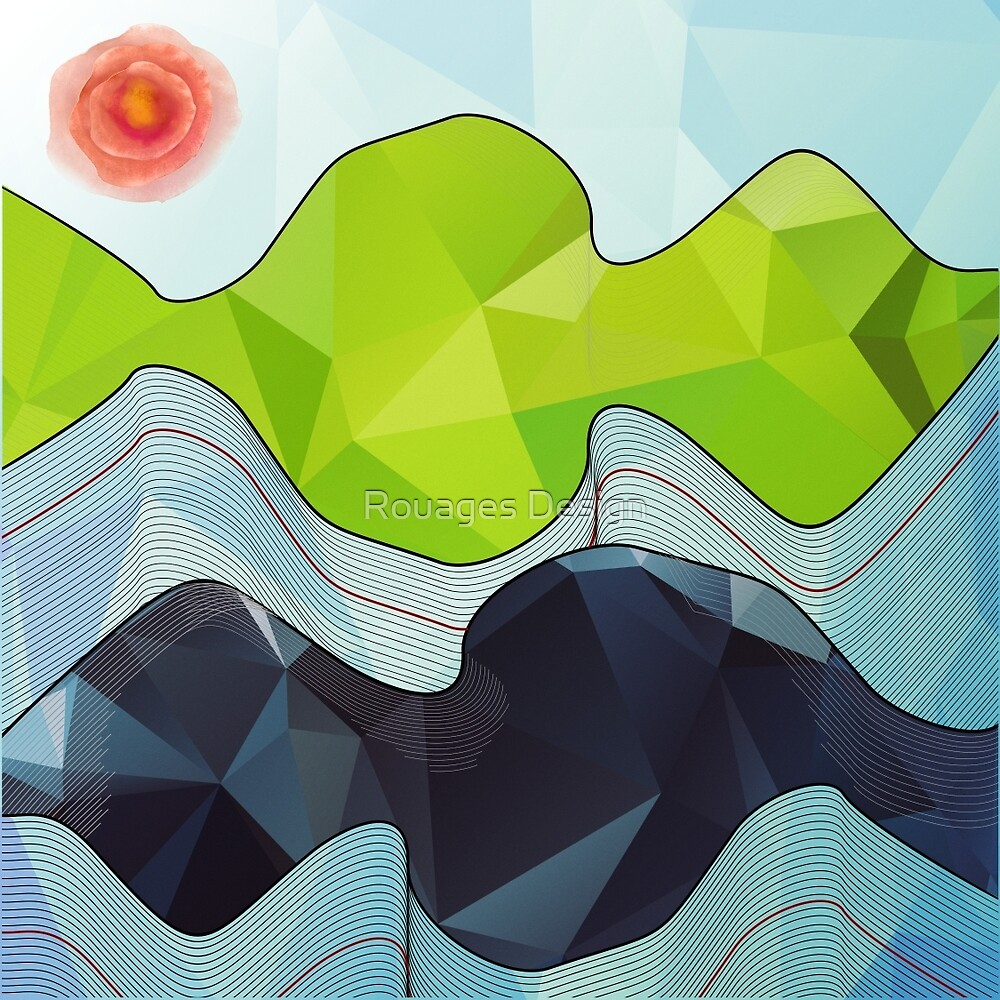 The Poly Landscape by Rouages Design