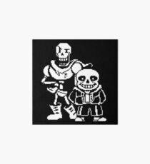 Sans and Papyrus from Undertale Art Board