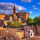 Evening in Sorano by vivsworld