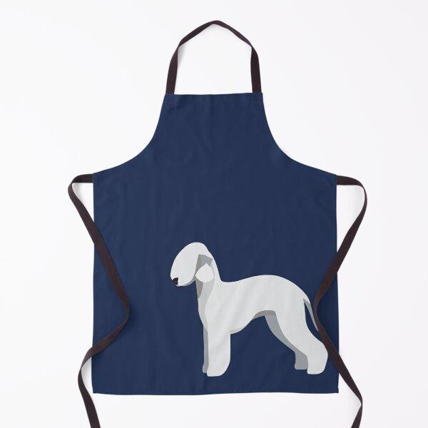 Blue Bedlington Terrier Apron
