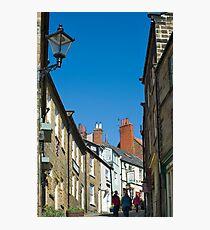 Pedestrians climbing Kings Street Photographic Print