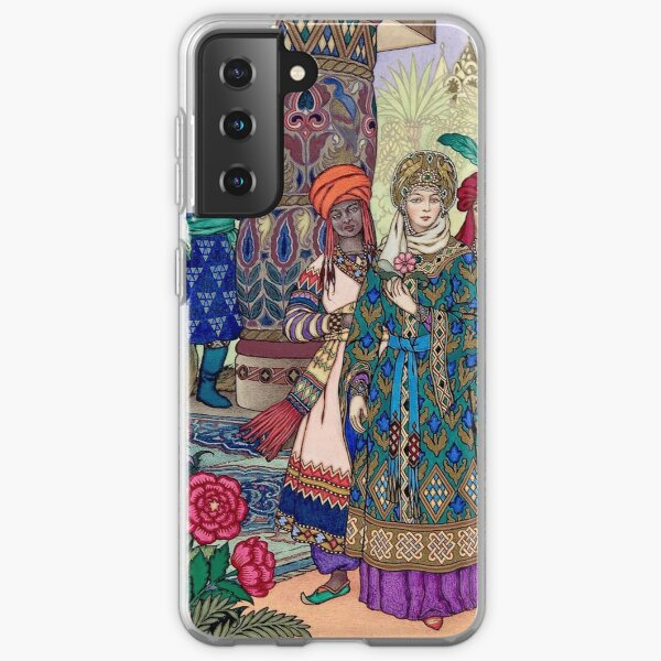 Ivan Sees the Fair Elena Boris Zvorykin Samsung Galaxy Soft Case