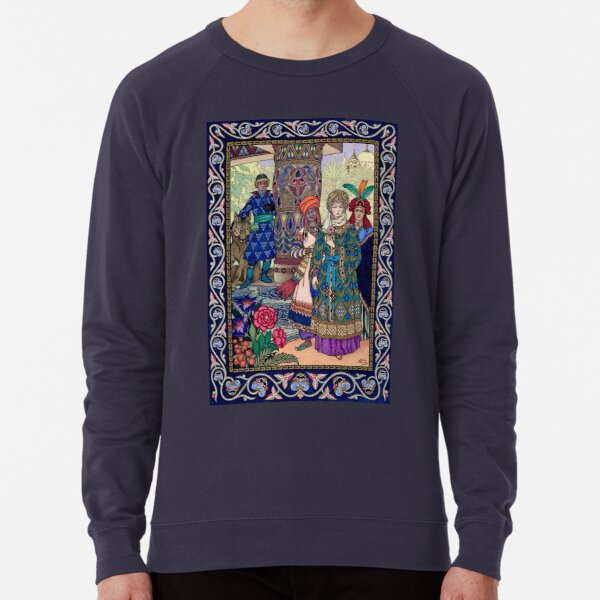Ivan Sees the Fair Elena Boris Zvorykin Lightweight Sweatshirt