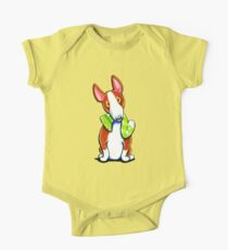 Red Bull Terrier Lets Play One Piece - Short Sleeve