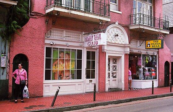 New Orleans Bourbon Street by Frank Romeo