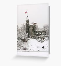 Belvedere Castle Greeting Card