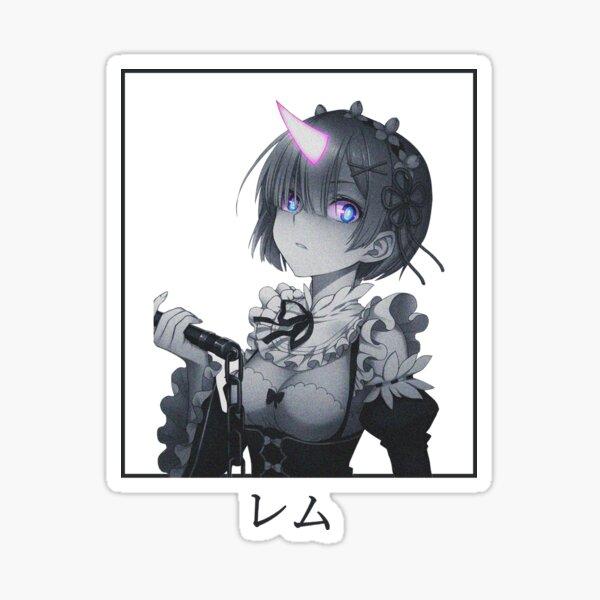 Re:Zero - Demon Rem  Sticker