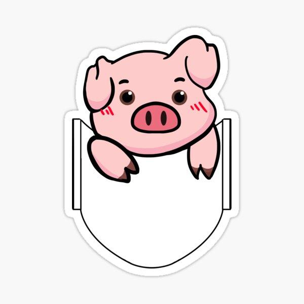 Pocket Piggy Sticker