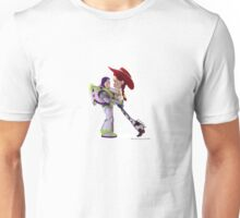 Height difference Unisex T-Shirt