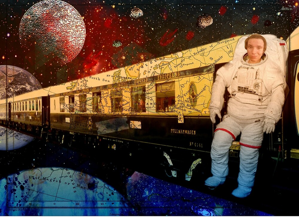 Orient express in Space! by CTsefrekas