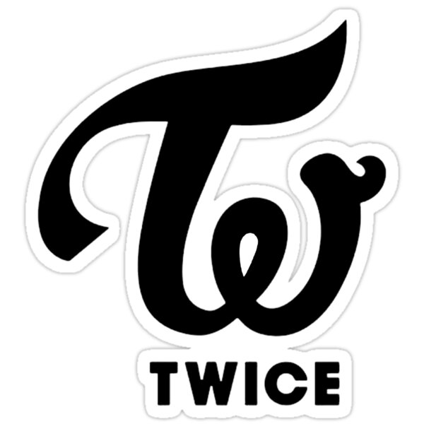 Quot Twice Kpop Quot Stickers By Erada Redbubble