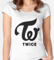 twice kpop  Women's Fitted Scoop T-Shirt