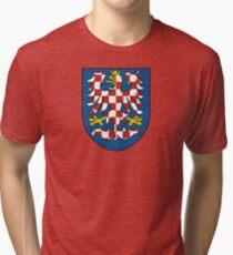 Moravia Coat of Arms Tri-blend T-Shirt
