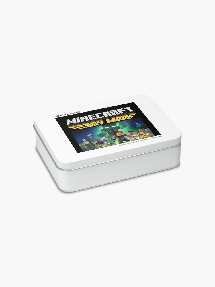 Alternate view of Minecraft Story Mode Jigsaw Puzzle