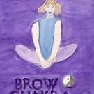The Butterfly The Brow Chakra by caraemoore