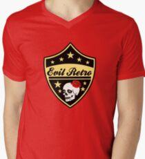 vw evil retro  Men's V-Neck T-Shirt