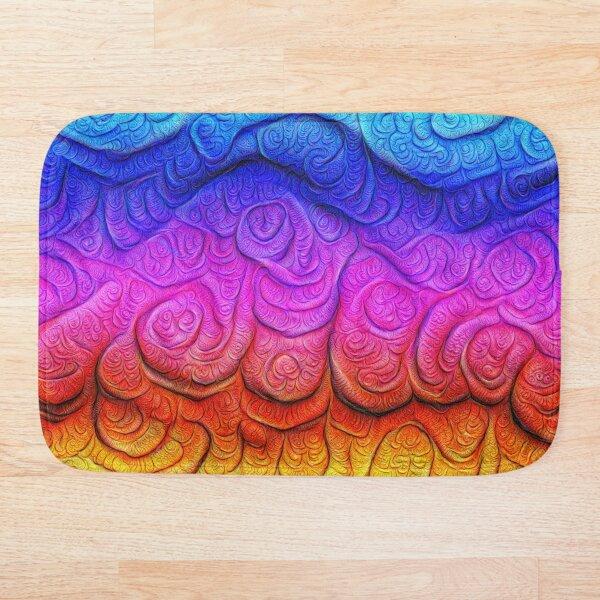 Color Foam levels #DeepDream Bath Mat
