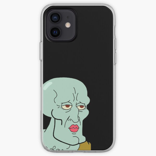 Handsome Squidward iPhone Soft Case