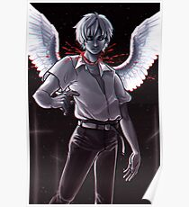 Evangelion 3 0 posters redbubble evangelion 30 10 poster 1851 kaworu poster sciox Image collections