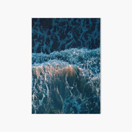 Beautiful Ocean Waves Art Board Print