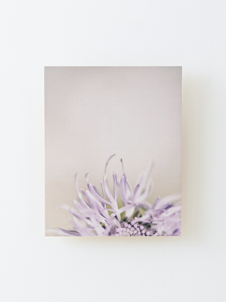 Alternate view of Flower Mystical Mounted Print