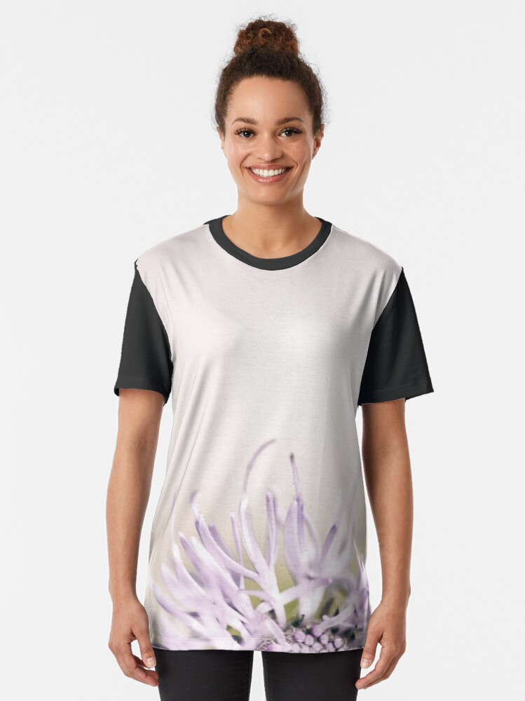Alternate view of Flower Mystical Graphic T-Shirt