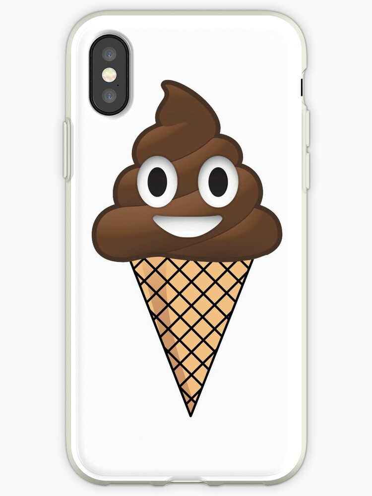 iphone emoji poop or ice cream