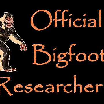 Official Bigfoot Researcher by SquatchCentral