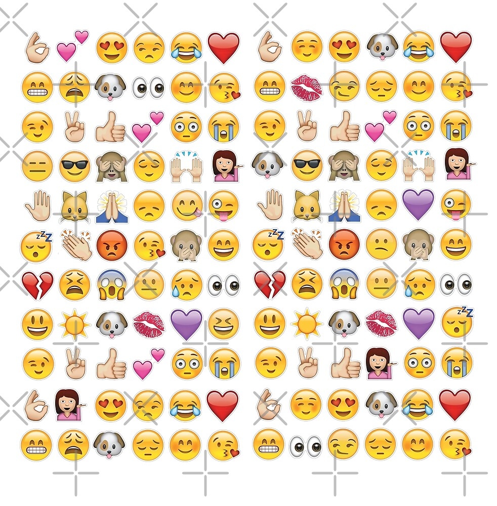 white emoji by gossiprag