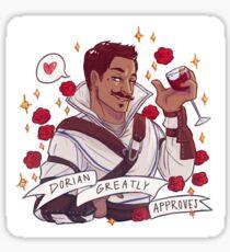 Dorian Approval - Dragon Age Sticker