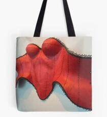 The Red Corset Tote Bag