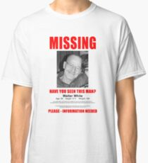 "Breaking Bad ""Missing"" Poster Classic T-Shirt"