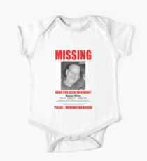 "Breaking Bad ""Missing"" Poster One Piece - Short Sleeve"