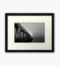 Tay rail bridge ,Dundee Framed Print