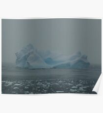 Snow Storms and Ice Bergs Poster