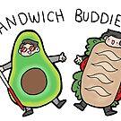 Sandwich Buddies! by geothebio