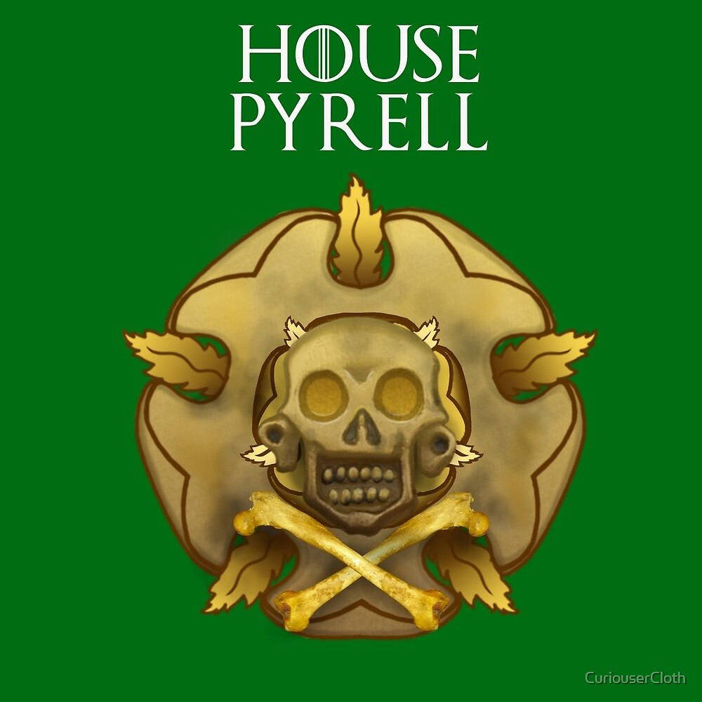 """House Pyrell"" - Disney Meets Game of Thrones by CuriouserCloth"