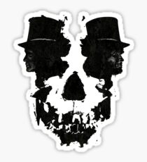 Skull of Jekyll/Hyde Sticker