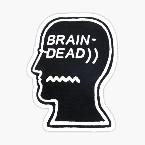 JE ME SENS * MORT * VERROUILLER MON + CERVEAU + LORSQUE JE FAIS UN EXAMEN Sticker