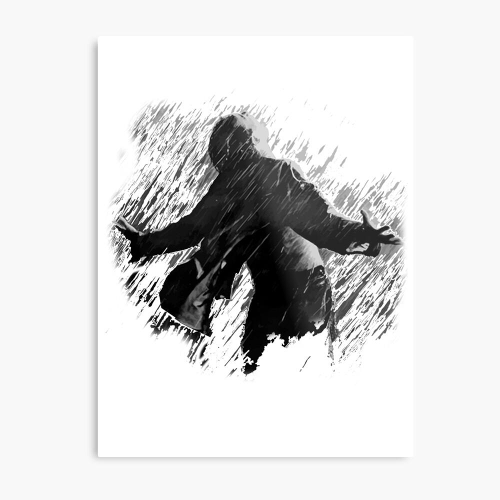 Libertad - La redención Shawshank Lámina metálica