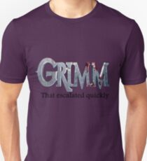 GRIMM in 3 Words Unisex T-Shirt