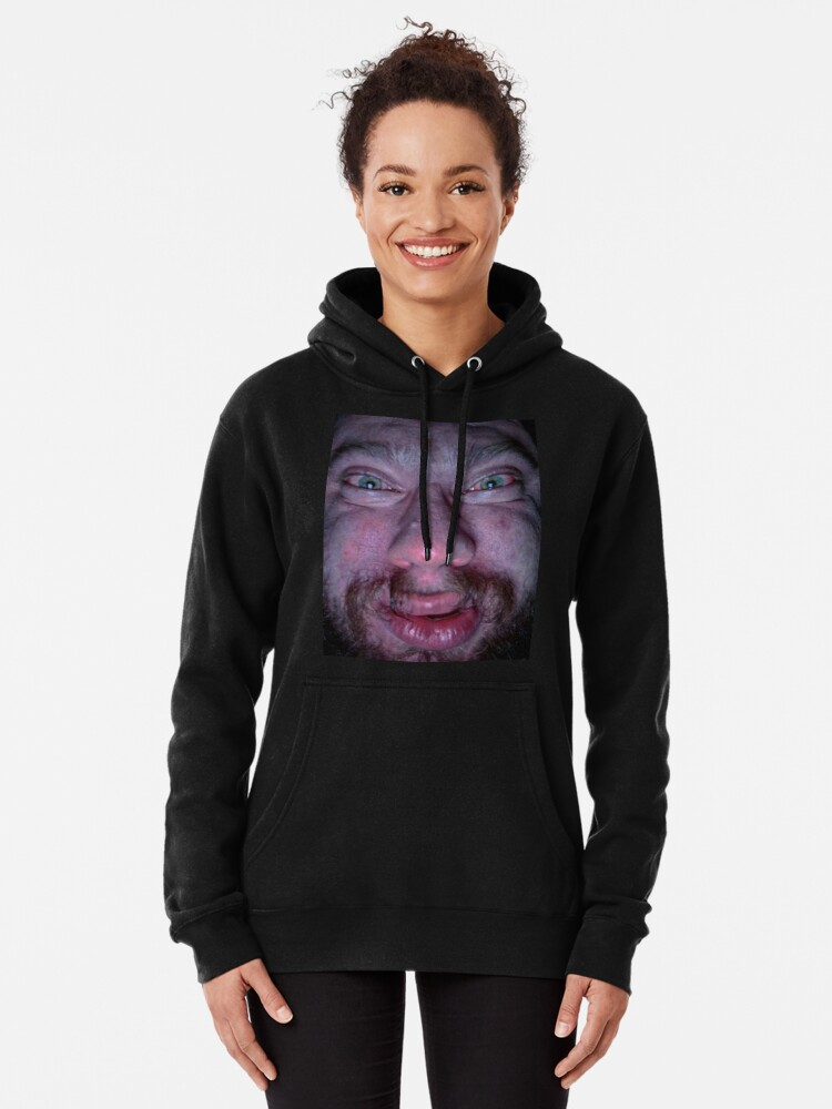 """""""Sam Hyde Face Meme """" Pullover Hoodie by Merch-On 