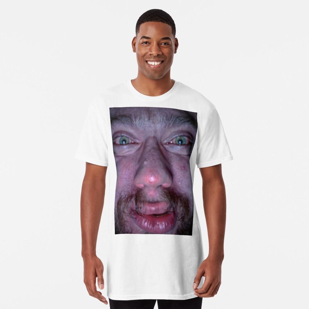 """Sam Hyde Face Meme "" T-shirt by Merch-On | Redbubble"