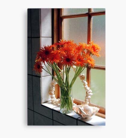 THE BATHROOM WINDOW Canvas Print