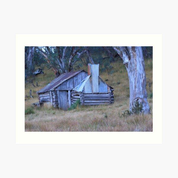 Guys hut Howitt plains Art Print