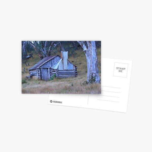 Guys hut Howitt plains Postcard