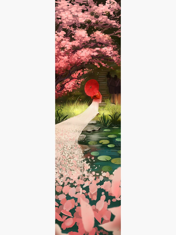 Cherry Blossom Geisha von JuliaBlattman