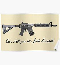 Treachery of Assault Weapons Poster